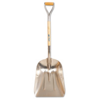 TRUE TEMPER® Aluminum Scoop with Hardwood Handle