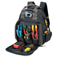 CLC Custom Leather Craft Tech Gear™ Lighted Backpack