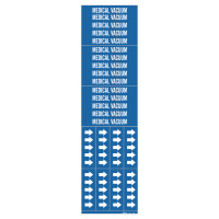 Brady Medical Gas Pipe Markers