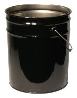 Freund Unlined Open Head Steel Pails