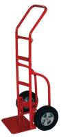 Heavy Duty Hand Trucks with Flow Back Handle, 800 lbs Cap., Solid Rubber Wheels