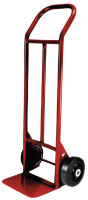 Heavy Duty Hand Trucks with Flow Back Handle, 1,000 lb Cap, Mold-On Rubber Wheel