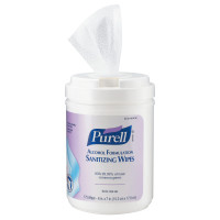 Gojo® Purell® Alcohol Formulation Sanitizing Wipes