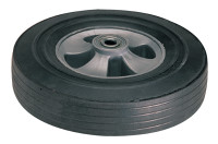 Truck Wheels, WH 64, Solid Rubber, 10 in Diameter