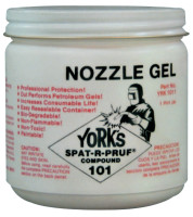 York Nozzle Gel Spat-R-Pruf® Compound 101