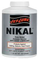 Jet-Lube Nikal® High Temperature Anti-Seize & Gasket Compounds