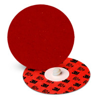 3M™ Abrasive Cubitron™ II Roloc™ Durable Edge Disc 984F | Cubitron II Roloc Durable Edge Disc 984F, Precision-Shape Grain, 4