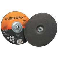 3M™ Abrasive Cubitron™ II Cut & Grind Wheels | Cubitron II Cut & Grind Wheel, 9 in Dia