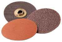 3M™ Abrasive Roloc™ Discs 777F | Roloc Discs 777F, Ceramic/Regular Alumina Mix, 3 in Dia., 36 Grit, Roll On Mount