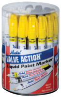Markal® Valve Action® Paint Marker Counter Displays