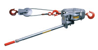 Cable Ratchet Hoist-Winches, 3 Tons Capacity, 15 ft Lifting Height, 105 lbf