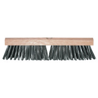 Magnolia Brush Carbon Steel Wire Deck Brushes | Carbon Steel Wire Deck Brushes, 12 in, Carbon Steel Wire, Wood Handle