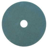 3M™ Abrasive Burnish Pads | Burnish Pads, Polyester/Nylon, Aqua