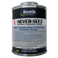 Never-Seez Never Seez® High Temperature Stainless Nuclear Grade Anti-Seize and Lubricating Compound