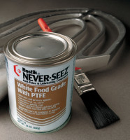 Never-Seez White Food Grade Compound w/PTFE