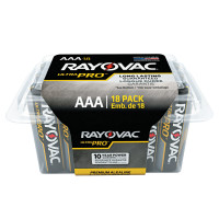 Rayovac Ultra Pro Alkaline Reclosable Batteries