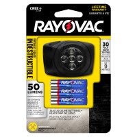 Rayovac 3AAA LED Headlights