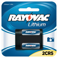 Rayovac Lithium Photo Batteries