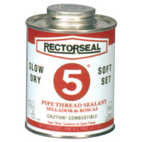 Rectorseal No. 5¨ Pipe Thread Sealants