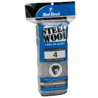 Red Devil Steel Wool | Steel Wool, Extra Course, #4
