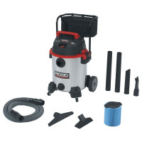Ridgid® Stainless Steel Wet/Dry Vac with Cart Model 1610RV
