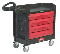 Rubbermaid Commercial TradeMaster® Professional Contractor Carts