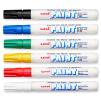 Sharpie® Uni®-Paint Opaque Oil-Based Paint Markers