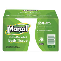 Marcal® 100% Recycled Bundle Two-Ply Bath Tissue