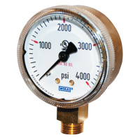 WIKA® Brass Gauges