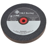 B-Line Abrasives Straight Resinoid Wheels | Straight Resinoid Wheel, 6 in Dia., 3/4 in Thick, 1 in Arbor, Fine Grit