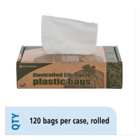 Stout® by Envision™ Controlled Life-Cycle Plastic Trash Bags