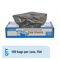 Stout® by Envision™ Recycled Content Plastic Trash Bags