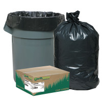 Earthsense® Commercial Linear Low Density Recycled Can Liners