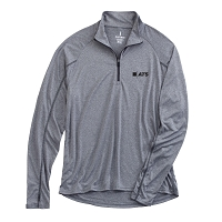 ATS Men's Knit Quarter Zip Shirt