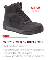 (NEW) Oliver Nextgen -  Men's All Leather High Top -  Steel Toe - Work Shoes