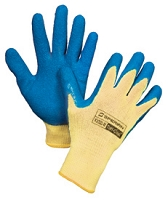 KV200 100% Kevlar - Natural Rubber palm and fingers - Cut Level 2