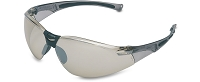 Uvex A804 9-Base I/O Silver Mirror Tinted Wrap-Around Eyewear