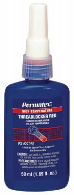 Permatex¨ High Temperature Red Threadlockers