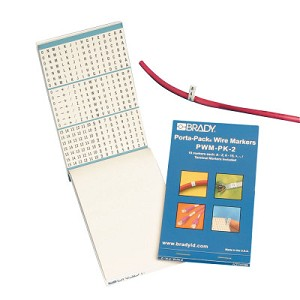 Brady Vinyl Cloth Porta-Pack® Wire Markers