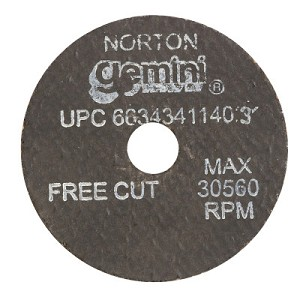 Norton Type 01 Gemini Small Diameter Cut-Off Wheels | Type 01 Gemini Small Diameter Cut-Off Wheel, 2