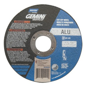 Norton Gemini RightCut Cut-Off Wheels | Gemini RightCut Cut-Off Wheels, 4 1/2 in Dia, Coarse Grit, Contaminant Free