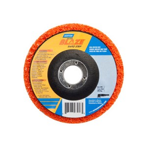Norton Bear-Tex Blaze Rapid Non-Woven Depressed Center Discs | Bear-Tex Blaze Rapid Non-Woven Depressed Center Discs, 7 in x 7/8 in, 8000 RPM