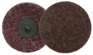 Weiler® Surface Conditioning Discs | Surface Conditioning Discs, 2 in Dia., Medium Grit, Aluminum Oxide